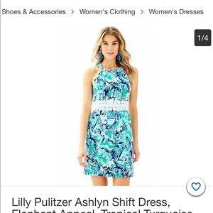 Lily Pulitzer Aislyn shift dress elephant appeal